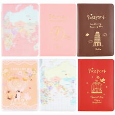 New Travel Passport Holder Protect Cover Case Card Ticket Container Pouch PC