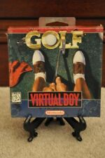 NEW SEALED Nintendo Virtual Boy 3D VB GOLF Red label USA Version