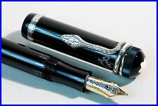 MONTBLANC Writers Editions Aghata Christie Fountain Pen 1993 STERLING SILVER 925