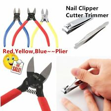 Manual Diagonal Beading Cable Wire Side Cutter Cutting Nippers Pliers Nail Art X