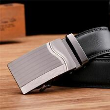 3 Style Pu Leather Stylish Strap New Design Buckle Waist Belt For Men