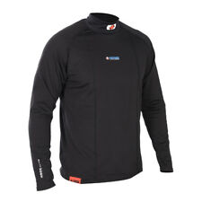 Oxford Layers Warm Dry Mens Motorcycle Base Layer High Neck Long Sleeve Top