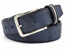 New Stylish Blue Color PU Leather Buckle Strap Casual Wear Belt For Men