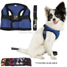 High Quality Pet Dog Accessories Cute Dog Vest cats Harness Breathable mesh