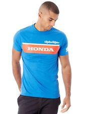 Troy Lee Designs Honda Blue Wing Block T-Shirt