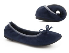 Greatonu Womens After Party Shoes Foldable Ballet Flat Portable Travel Ballerina