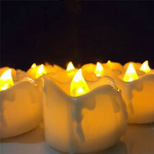 Flickering Flameless LED Tea Light Candle w/Timer function for Wedding Party