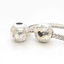 Authentic Genuine S925 Sterling Silver Family & Love CLIPS CHARM BEAD