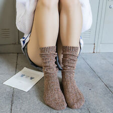 12Color Long Warm Boots Sock Womens Winter Cotton Socks Soft Thick Thermal Socks