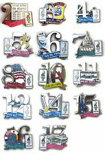 ATLANTA 1996 OLYMPIC GAMES DAY PINS U.S.A.  CHOICE or ALL 14 for ONLY $6.99