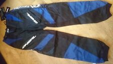 ONEAL ELEMENT BLUE AND BLACK MOTOCROSS TROUSERS BMX MTB OFF ROAD SIZE 28 WAIST