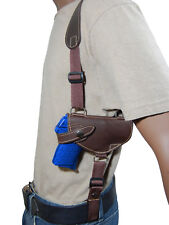 NEW Barsony Brown Leather Shoulder Holster for SIG Walther UltraComp 380 9 40 45