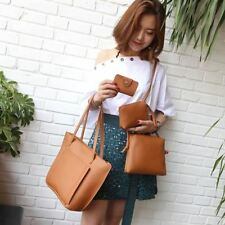 Women Simple Style Solid Color Pu Leather Material Crossbody Shoulder Bag