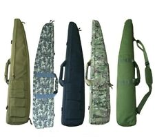 Tactical Gun Rifle Carrying Bag 120cm Military Case Pouch Airsoft Shooting New