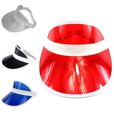 1Pc Adjustable Men Women Visor Sun Plain Hat Sports Cap Colors Golf Tennis Beach