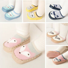 Baby Girl Boy Anti-slip Soft Sole Socks Newborn Slipper Shoes Boots In/Outdoor