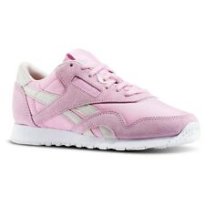 Reebok Classic Nylon X FACE Womens Trainer Pink UK Size 3.5 to 6.5 NEW