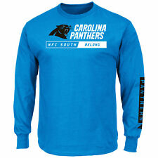Carolina Panthers 2016 Primary Receiver Long Sleeve NFL T-Shirt