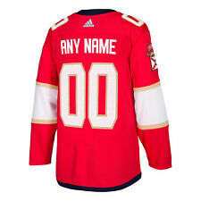 Florida Panthers ANY NAME adidas adizero NHL Authentic Pro Home Jersey