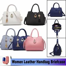 Women Leather Fashion Messenger Handbag Lady Shoulder Bag Totes Purse Satchel