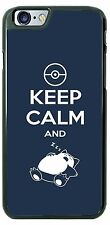 Funny Keep Calm and Cat Sleep Phone Case Cover for iPhone 7 Samsung s8 LG etc