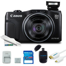 Canon PowerShot SX710 20.3MP Digital Camera (Black) + Expo Basic Kit