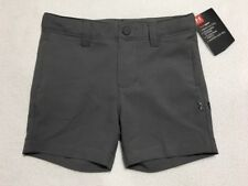 NWT Under Armour 3 6 9 Month Golf Medal Play Graphite Gray Shorts Heatgear