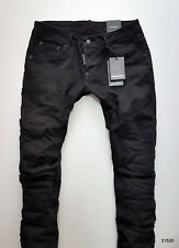 DSQUARED2 NEW COLL MAN-JEANS BRAND TAGS BLACK CLEMENT MOD. 21525 SALE DSQUARED
