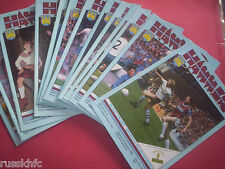 1984/85 - WEST HAM HOME PROGRAMMES CHOOSE FROM