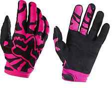 Fox Womens Dirtpaw Pink Blk Gloves Adult Motorcycle MX ATV Gloves 15169-285