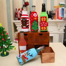 Christmas Ornaments Beer Bottle Holder Cola Bottle Wrapping Cover Decoration