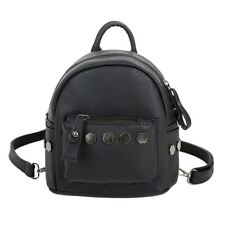 New Rivet Decorative PU Leather Small Backpack for Teenager Girl