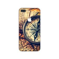 iPhone 8 7 Plus Skin STICKER Decal 10 6 Plus 6s 5 Case X Old Travel Map PS117