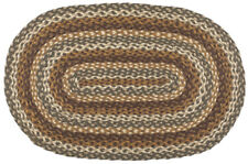 Cedar Grove Braided Area Rug By IHF Rugs. Oval & Rectangle. Many Sizes.