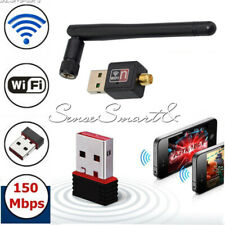 150Mbps USB 2.0 802.11N/G/B Mini WiFi Antenna LAN Card Adapter Wireless Network