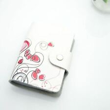 PU Leather Printed Pattern 11 Color ID Card Credit Card Holder 1630