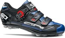 SIDI Dominator 7 MTB Cycling Shoe: BLACK AND BLUE - VARIOUS Sizes - NEW