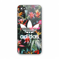 Best Adidas-Tropical-Floral Print On Hard Plastic Case For iPhone 5s 6s 7 (Plus)