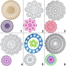 Round Lace Cutting Dies Stencil DIY Scrapbooking Album Paper Card Embossing Gift