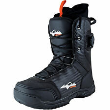 HMK Pro 2 Hybrid Boa Boot Snow Textile Solid Mid-Calf Waterproof