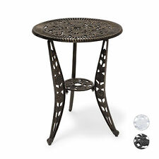 Patio Table Bistro Table Garden Furniture Art Nouveau Style Side End Table