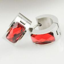 Women Stainless Steel Acrylic Crystal Material Stud Earring JEZ295