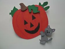 3D-U Pick- Fall Halloween Ghost Bear Cat Puppy Scrapbook Card Embellishment