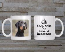 Doberman Mug, Keyring, Coaster - Dog Breed, Christmas/Birthday Gift