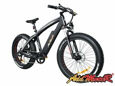 Addmotor Electric Bicycle Bikes 500W 26'' Fat Tire Fork Suspension E-Bike M-560