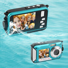 Digital Camera Waterproof 24MP MAX 1080P Double Screen16x Zoom Camcorder CA