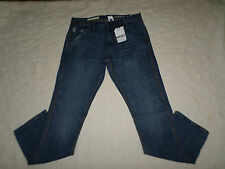 GAP 1969 JEANS MENS CARPENTER SLIM FIT SIZE 34X30 ZIP FLY BRIGHT INDIGO NEW NWT
