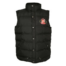 Sunderland AFC Official Football Gift Boys Padded Body Warmer Gilet