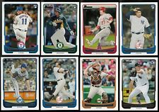 2012 Bowman Complete Team Set 27 Available Rookie Card Logo RC Base Set