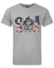 Sons Of Anarchy Flag Men's T-Shirt